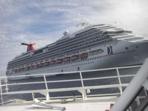 年末年始を過ごしたクルーズ船 (2009年12月27日 - 2010年1月3日)